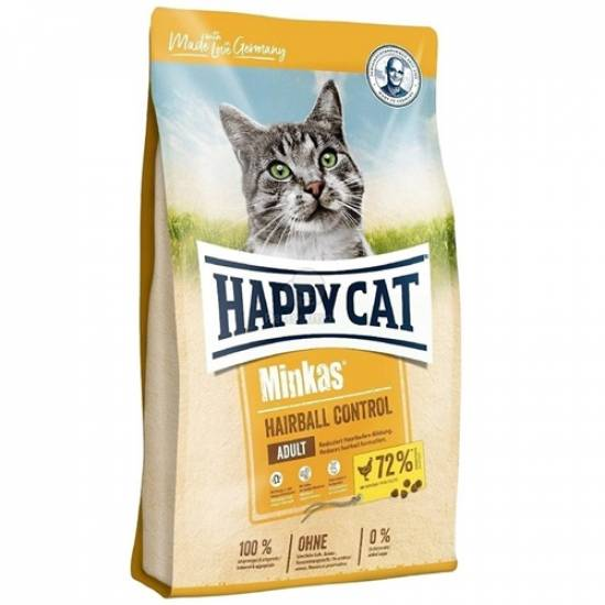 Happy Cat Hairball Control Tavuklu Kedi Maması 1.5kg - 0