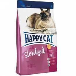 Happy Cat Sterilised Atlantik Lachs Somonlu Kedi Maması 10 Kg