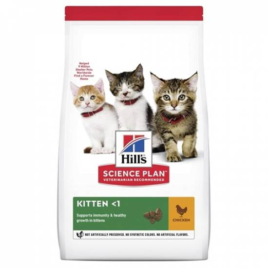 Hills Kitten Healthy Development Kedi Maması 3 Kg - 0